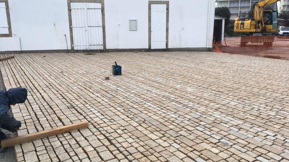 Port Haliguen Quiberon Décembre 2020 PAVAGE  Photo 3 CPM