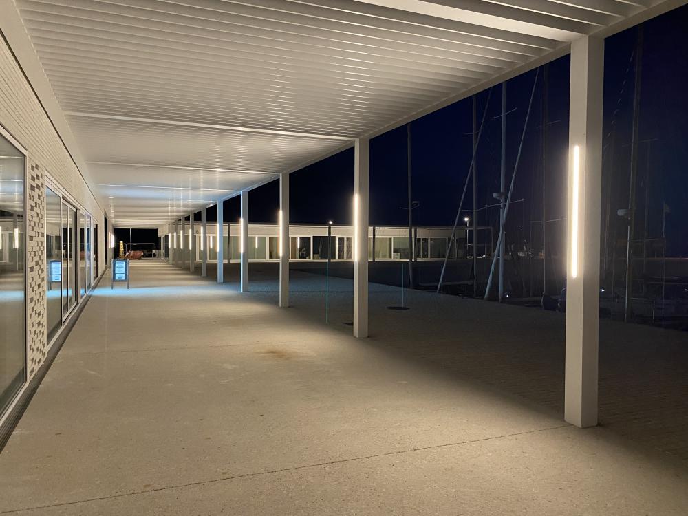 ECLAIRAGE DES NOUVEAUX LOCAUX JUILLET 2021 photo CPM