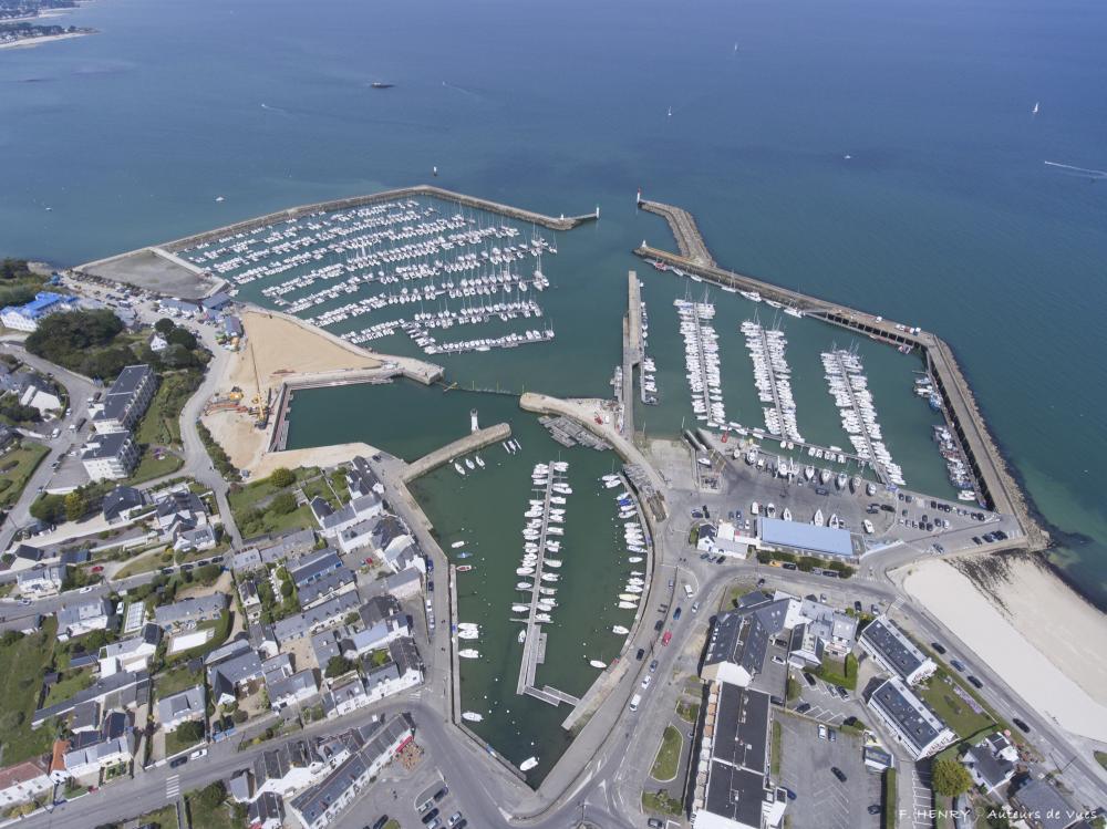 Le chantier en images - Port Haliguen Quiberon en Bretagne